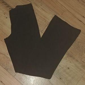 Tek Gear Black Stretch Yoga Pants Size Medium